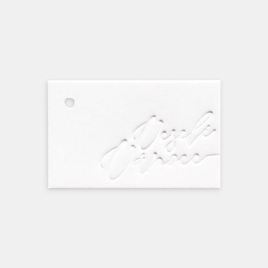 Tiskovna, letterpress, štítek, tagovka, Veselé Vánoce, verze 2